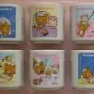 San-X Rilakkuma Miniature Collection Cup - Set of 6 (G3)