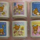 San-X Rilakkuma Late at Night Series Miniature Collection Cup - Set of 6 (G4)