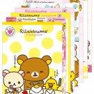 San-X Rilakkuma I Love Rilakkuma Series Letter Pad - Yellow