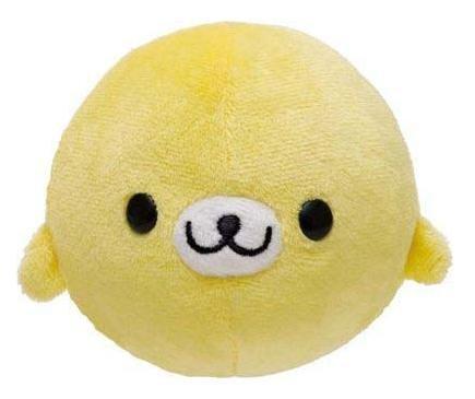 San-X Mamegoma Manmaru Series Plush - Yellow