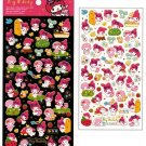 """Sanrio My Melody """"Once Upon A Time"""" Epoxy Sticker with Gold Accent"""