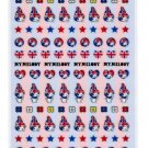 Sanrio My Melody Petite Sticker - Union Flag (Stripes)