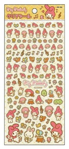Sanrio My Melody Clear Petite Sticker