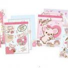 San-X Piggy Girl Mini Memo - Set of 4
