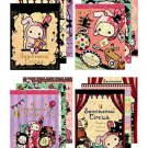 San-X Sentimental Circus Mini Memo - Set of 4