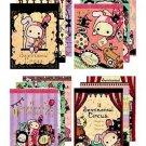 San-X Sentimental Circus Mini Memo - Set of 4