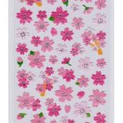 Mind Wave &quot;Sakura&quot; (Cherry Blossom) Washi Sticker with Silver Accent