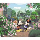 Tenyo Disney Mickey & Minnie Small Pieces Jigsaw Puzzle - Romantic Garden