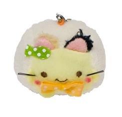 Hannari Tofu Cat Collection Cell Phone Strap - Mike Neko