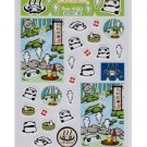 San-X Tare Panda Sticker - Green