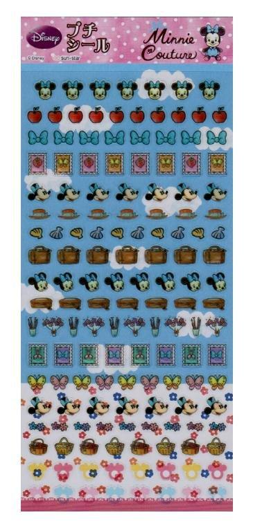 """Sun-Star Disney """"Minnie Couture"""" Sticker - Minnie & Apple"""