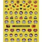 "Sanrio ""Cinnamoroll"" Sticker - Yellow"