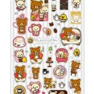 San-X Rilakkuma Chocolate & Coffee Series Sticker - #201