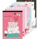 San-X Chou-Fleur Series Memo Pad - Pink