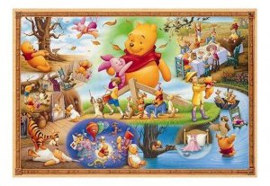 Tenyo Disney Winnie the Pooh & Friends - World's Smallest Jigsaw Puzzle