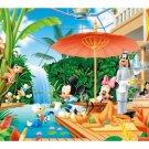 "Disney Mickey & Friends ""Tropical Garden"" - Yanoman Petit 2 Jigsaw Puzzle"