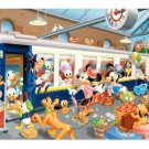 "Disney Mickey & Friends ""Orient Express"" - Yanoman Petit 2 Jigsaw Puzzle"