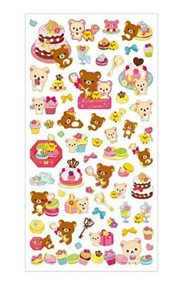 "San-X Rilakkuma ""Sweets"" Series Sticker - #1"