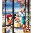 "Disney Mickey & Minnie ""Parisian Cafe"" - Yanoman Petit 2 Jigsaw Puzzle"