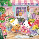 "Sanrio ""Hello Kitty's Flower Shop"" Small Pieces Jigsaw Puzzle"