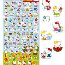 Kamio Japan Sanrio Hello Kitty Petite Sticker - Summer Picnic