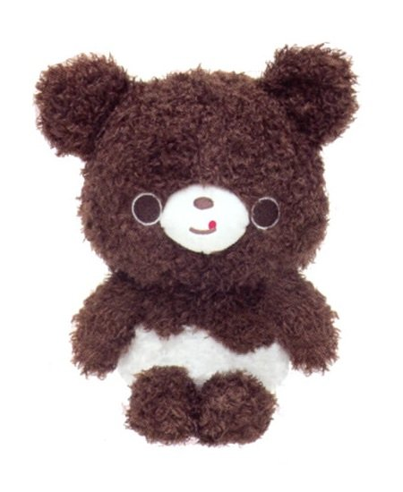 San-X Chocopa Plush - Brown Bear