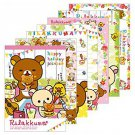 "San-X Rilakkuma ""Happy Holiday Picnic"" Series Memo Pad - #301"