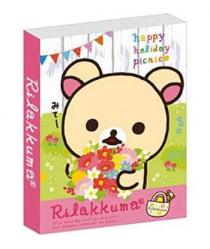 "San-X Korilakkuma ""Happy Holiday Picnic"" Series Sticky Notes/Post-It"