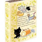 San-X Kutusita Nyanko Recipe Series Sticky Mini Memo - Yellow