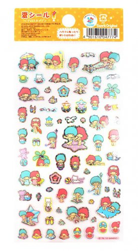 Sanrio Little Twin Stars 2012 Summer Collection Sticker