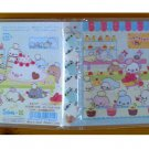 San-X Mamegoma Sweets Factory Flap Memo Book - #201