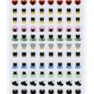 San-X Kutusita Nyanko Mark Seal - 2012 Collection