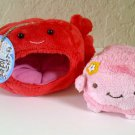 Passport Hannari Tofu Sea Creature Mascot Plush - Crab