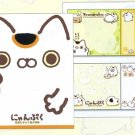 San-X Nyan Puku Sticky Notes/Post-It Book
