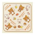 San-X Rilakkuma Small Towel - Cream