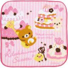 San-X Rilakkuma Small Towel - Pink