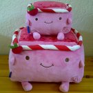 Hannari Tofu Tomato Plushies - Set of 2
