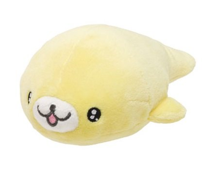 San-X Mamegoma Yellow Plush - Lemon Goma