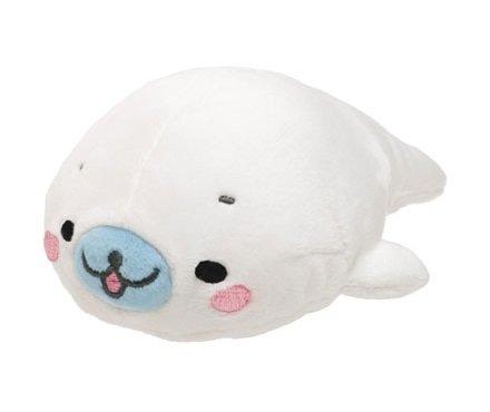 San-X Mamegoma White Plush - Shiro Goma