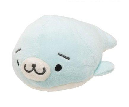 San-X Mamegoma Blue Plush - Sora Goma