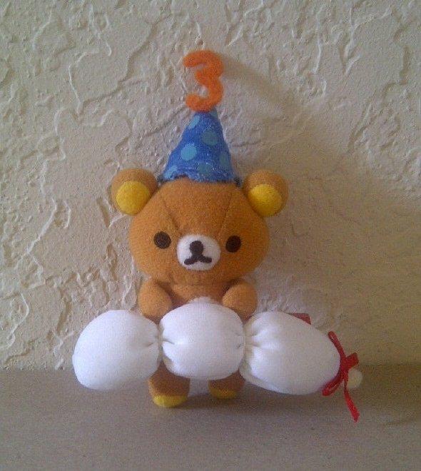 San-X Rilakkuma 3rd Anniversary Hanging Plush - Dango