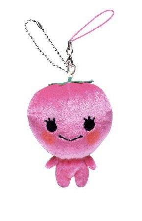 San-X Mikan Bouya Hanging Plush - Strawberry Chan