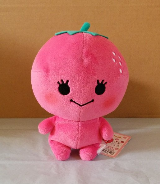 San-X Mikan Bouya Plush - Strawberry Chan