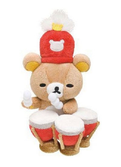 San-X Rilakkuma Wonderland Series Plush - Timpani Player