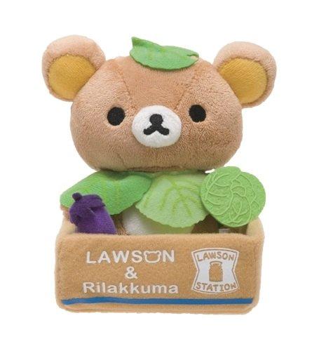 San-X Rilakkuma Lawson Vegetable Series Plush - Cabbage