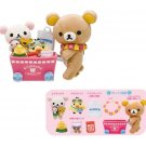 San-X Rilakkuma Lawson Aloha Series Plush - Shopping