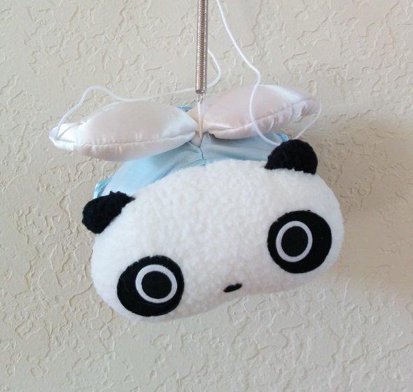 San-X Tare Panda Blue Angel Plush