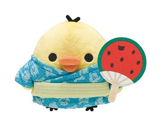 San-X Rilakkuma Summer Vacation Series Plush - Kiiroitori