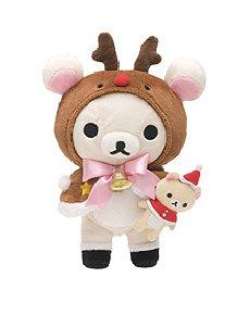 San-X Rilakkuma Christmas 2012 Plush - Reindeer Korilakkuma