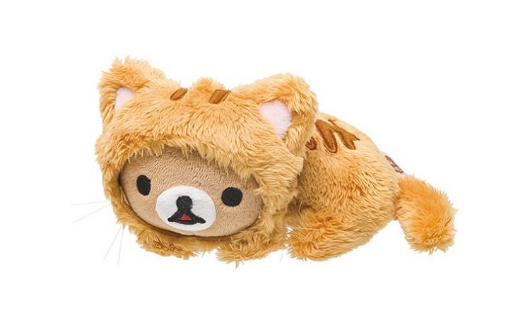 San-X Rilakkuma Carefree Cat Series Petite Plush